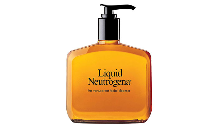 Liquid Neutrogena Facial Cleansing Formula