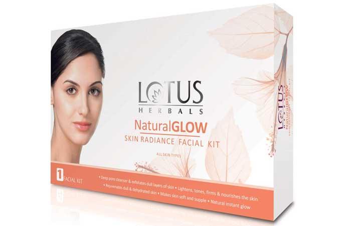 Lotus Herbals Natural Glow Kit Skin Radiation Facial Kit
