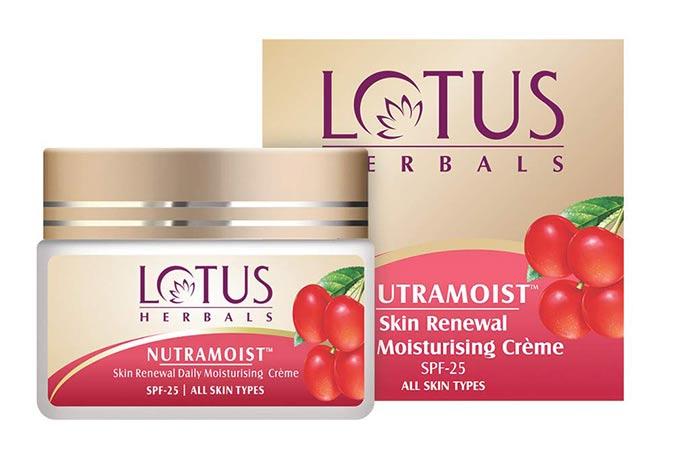 Lotus Herbals Neutramoist Skin Renew Daily Daily Moisturizing Cream