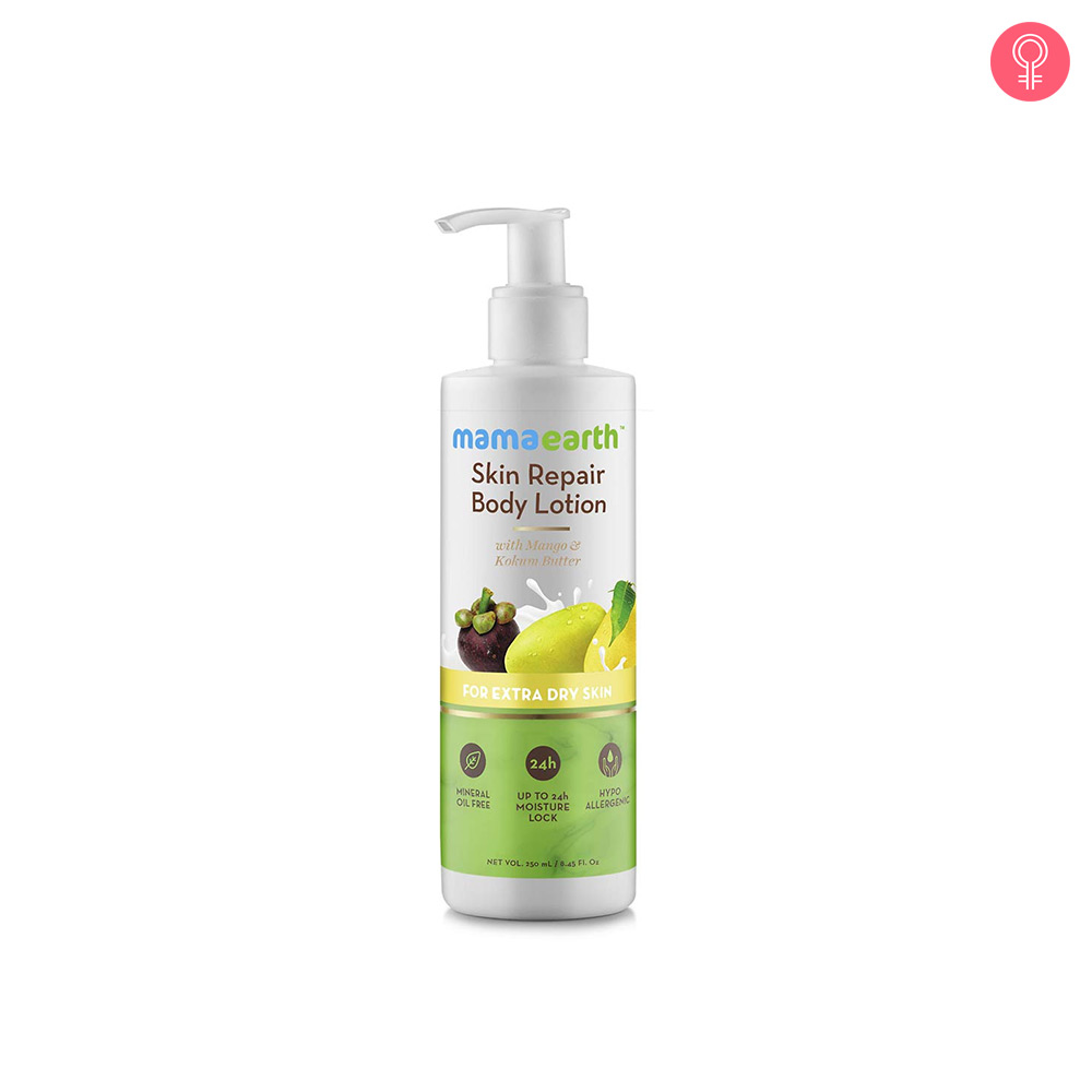 Mamaearth Skin Repair Natural Winter Body Lotion