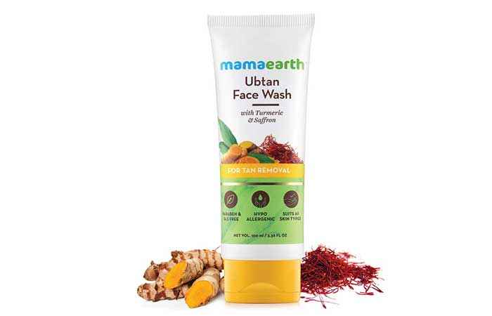 Mamaearth Ubtan Natural Face Wash for Dry Skin