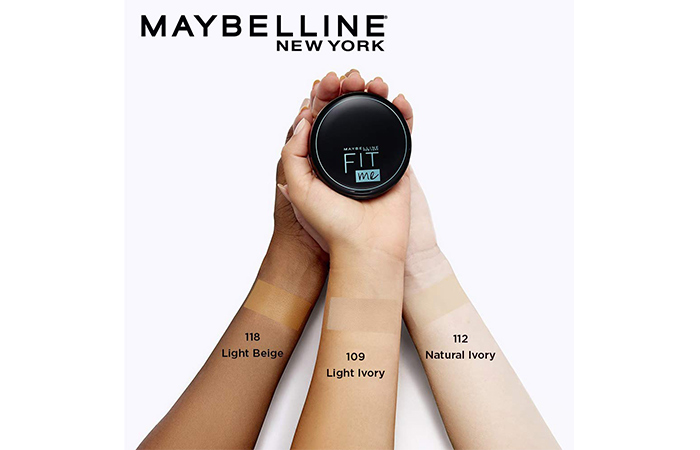 Maybelline Fit Me Compact, Natural Ivory