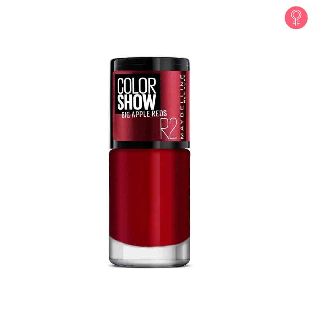 Maybelline New York Color Show Big Apple Reds Nail Color