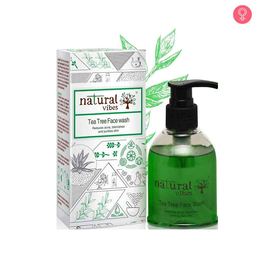 Natural Vibes Ayurvedic Tea Tree Face Wash