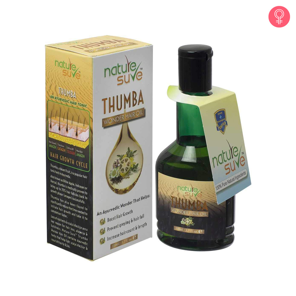 Nature Sure Thumba Wonder Hair Oil