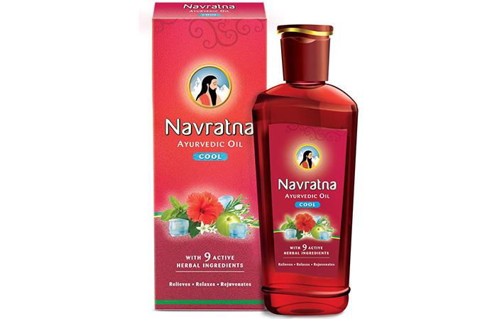 Navratna Ayurvedic Cold Oil
