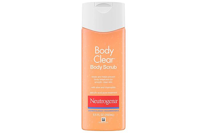 Neutrogena Body Clear Oil-Free Acne Body Scrub