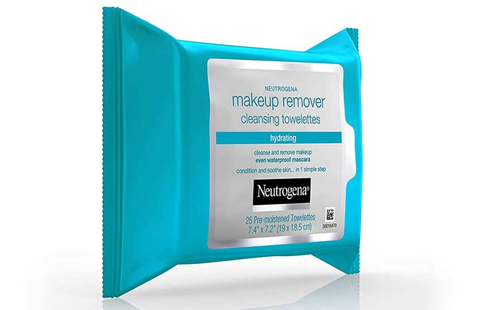 Neutrogena Hydrating Makeup Remover Facial Cleansing Wipes