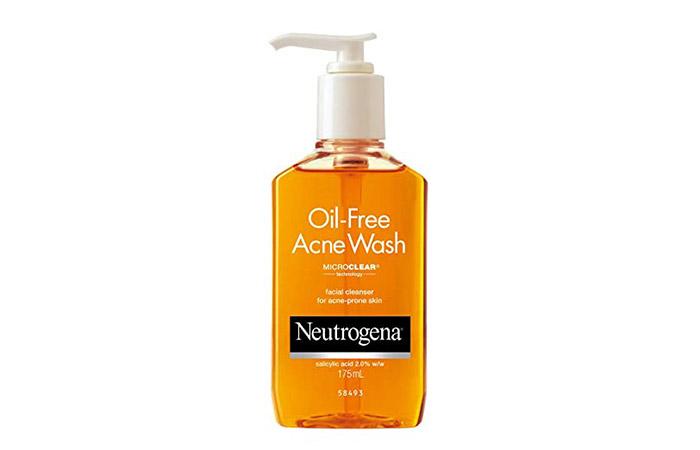Neutrogena Oil Free Acne Facewash
