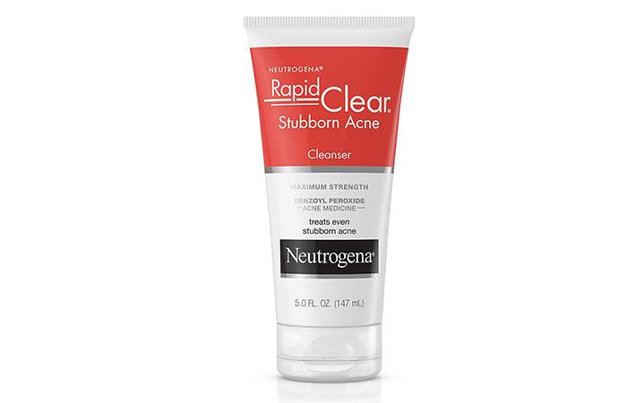 Neutrogena Rapid Clear Stubborn Acne Facial Cleanser