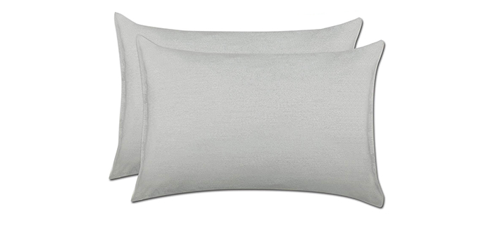 Newmeil Silver Acne Pillowcase