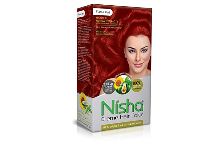 Nisha Cream Permanent Hair