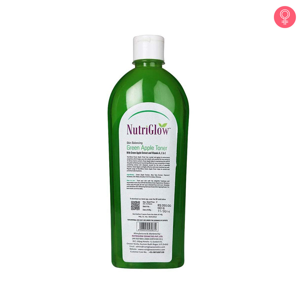 NutriGlow Green Apple Toner