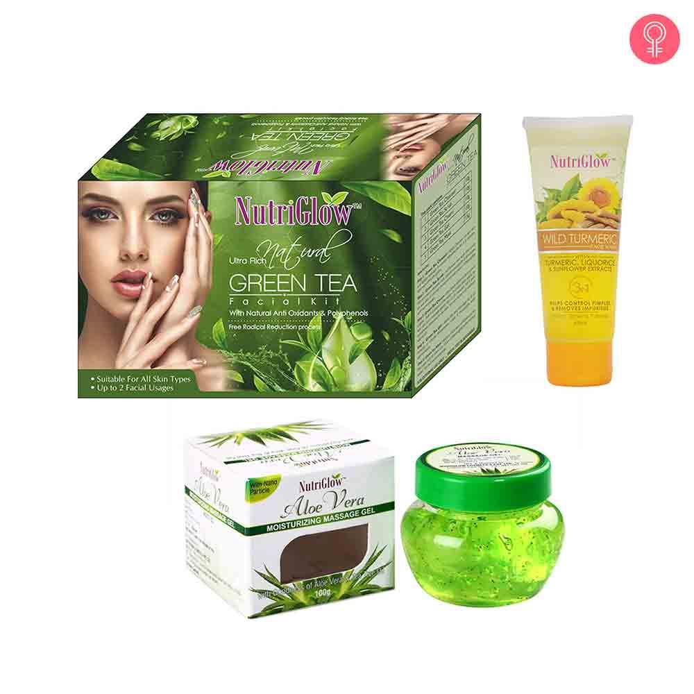 NutriGlow Ultra Rich Nature Green Tea Facial Kit