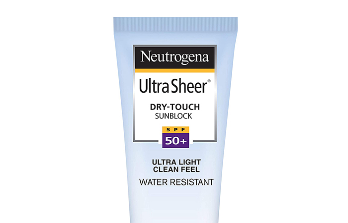 Nutrigina Ultra Shir Dry Touch Sunblock
