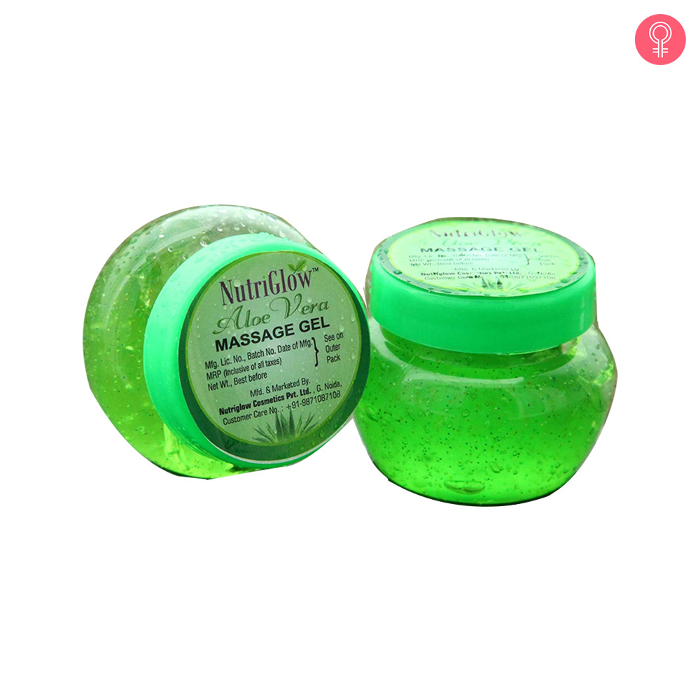 Nutriglow Aloe Vera Moisturizing Massage Gel