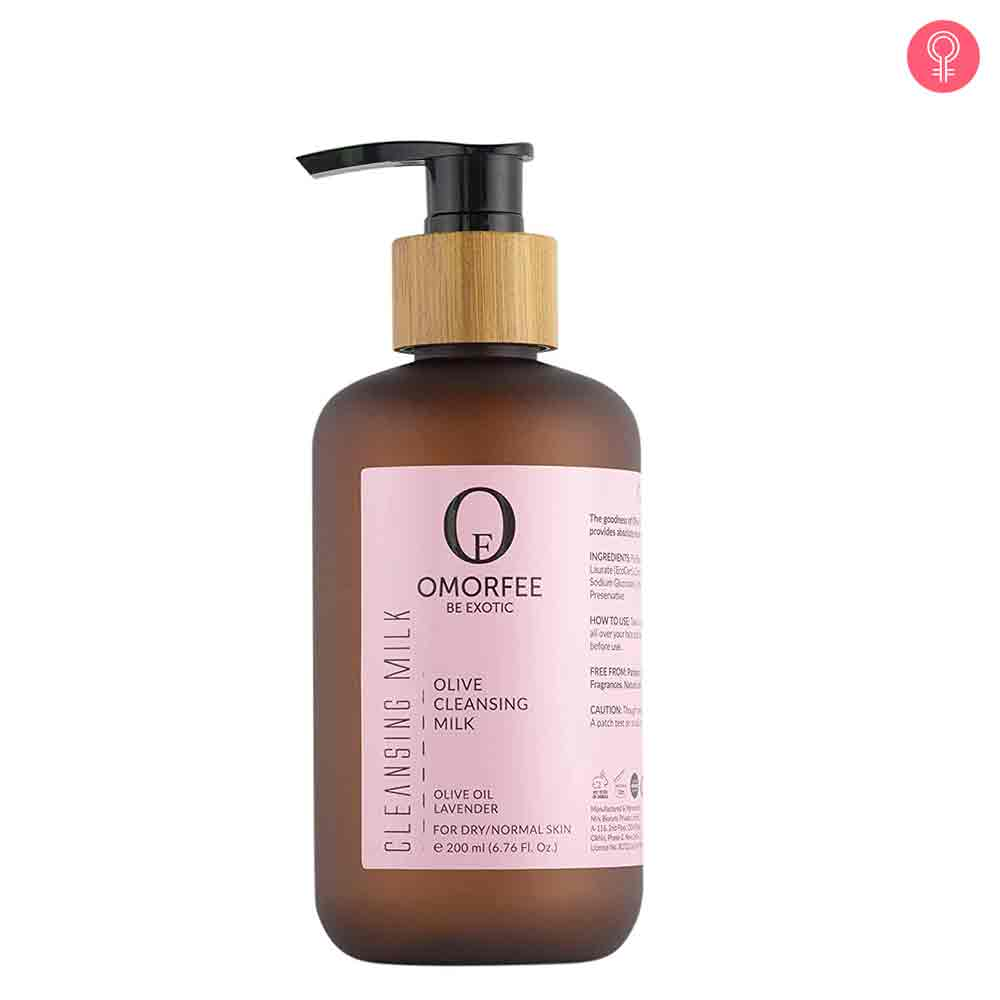OMORFEE Olive Cleansing Milk