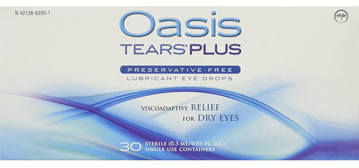 Oasis TEARS PLUS Preservative