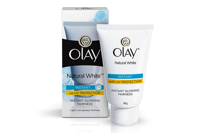 Ole Natural White Light Instant Glowing Fairness Cream