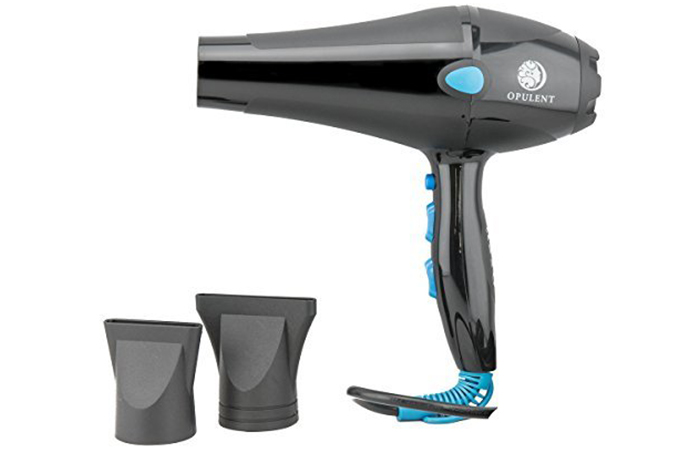 Opulent Care Professional Tourmaline Ionic Hair Dryer