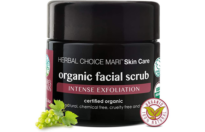 Organic Facial Scrub by Herbal Choice