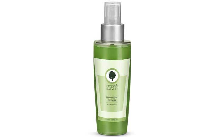 Organic Harvest Neem Tulsi Toner For Oily Skin