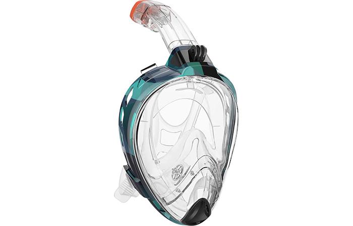 OutdoorMaster 180° Snorkel Mask