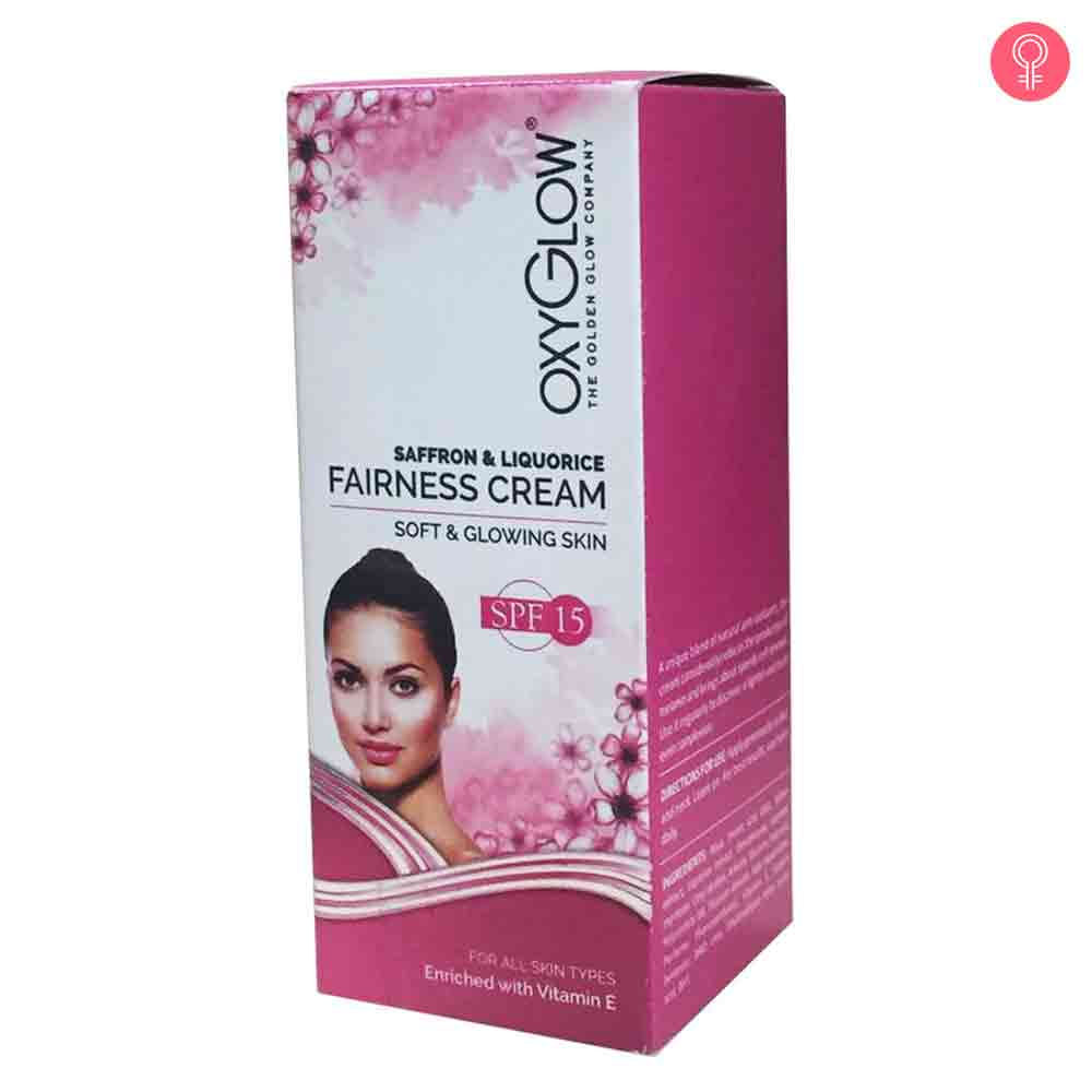 Oxyglow Saffron And Liquorice Fairness Cream