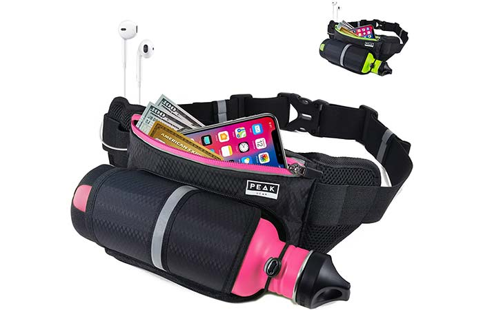 Peak Gear Waist Pack and Water Bottle Belt