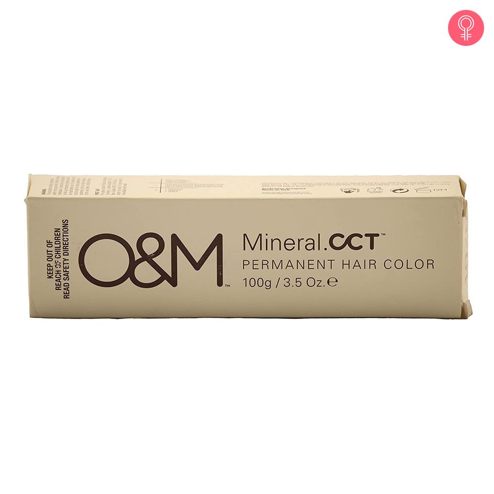 O&M Original Mineral CCT Permanent Hair Color