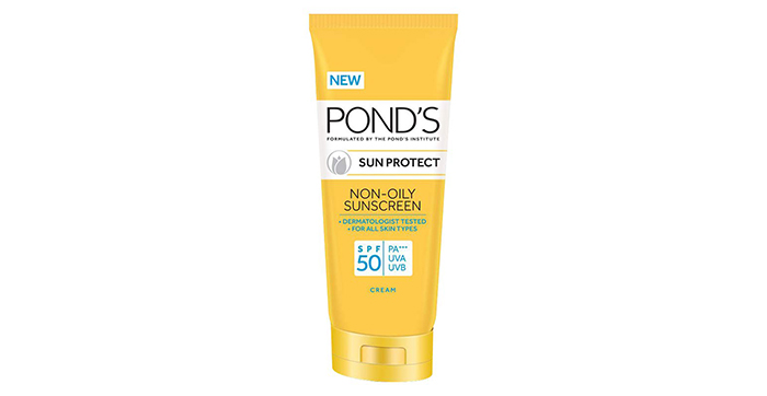 Ponds SPF 50 Sun Protect Non-Oily Sunscreen