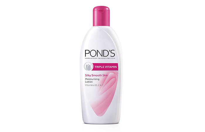 Ponds Triple Vitamin Moisturizing Body Lotion