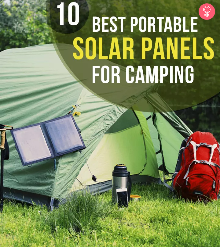 10 Best Portable Solar Panels For Camping