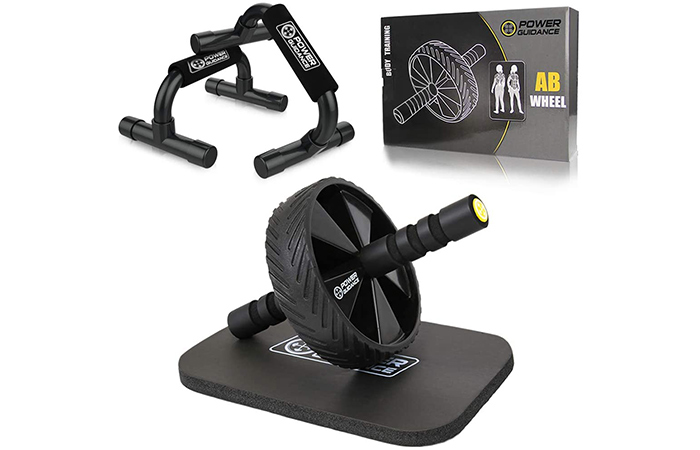 Power Guidance Ab Wheel