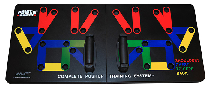 Power Press Push-Up Board System
