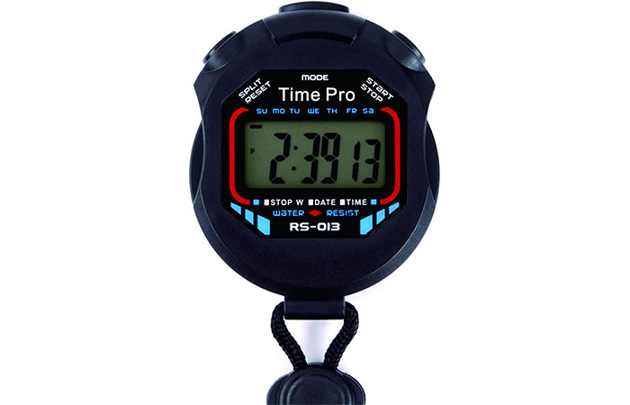 ProCoach RS-013 Water Resistant Sports Stopwatch