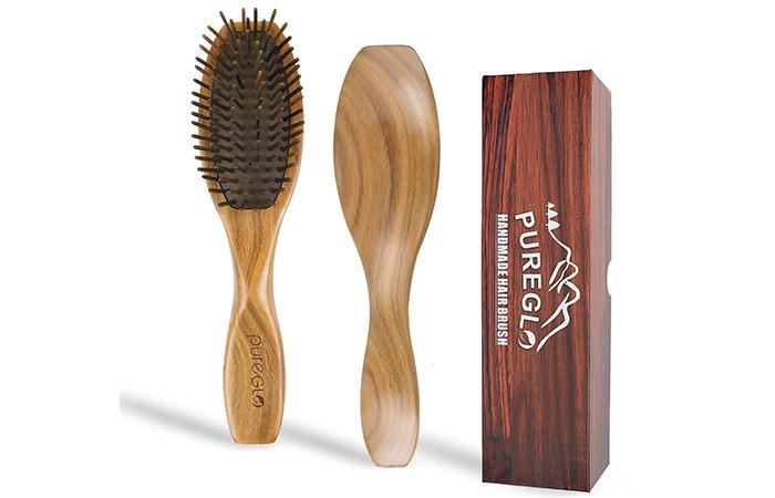 PureGLO Handmade Hair Brush