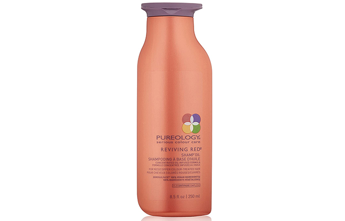 Pureology Reviving Red Shamp'Oil – Best Sulfate-Free Shampoo For Red-Dyed Hair