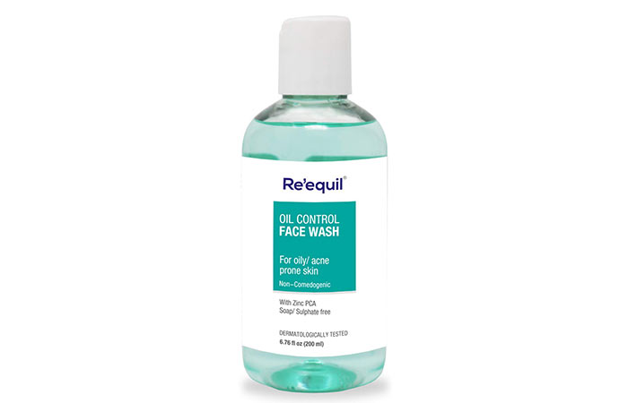 R 'Icual Oil Control Anti Acne Face Wash For Oily, Sensitive And Acne Prone Skin - 200ml, Sulfate Free, Soap Free