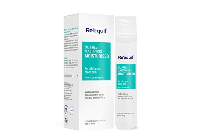 RE 'Equal Oil Free Matifying Moisturizer
