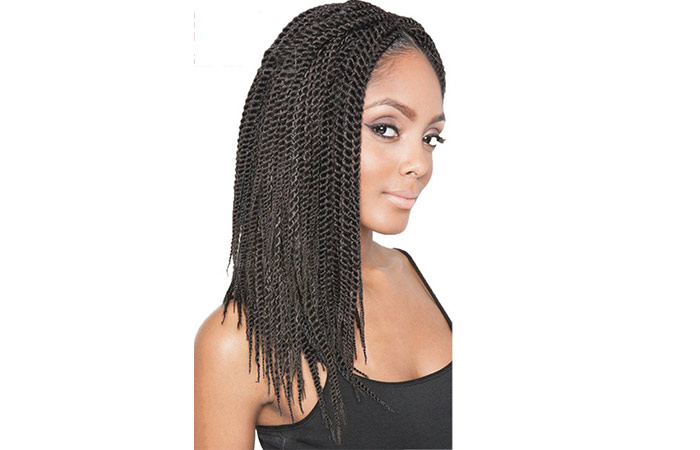Refined Hair Synthetic Hair Extensions Crochet Braids