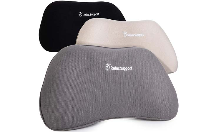 RelaxSupport Back Support Pillow