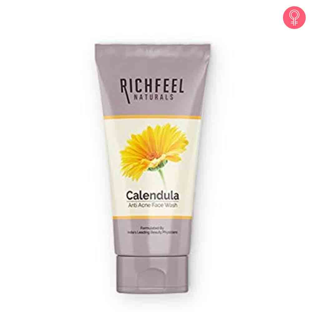 Richfeel Anti Acne Face Wash with Calendula Extracts