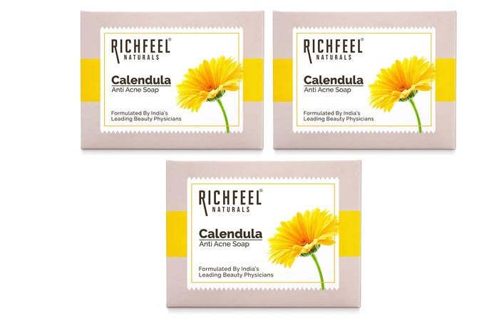 Richfeel Calendula Acne Soap