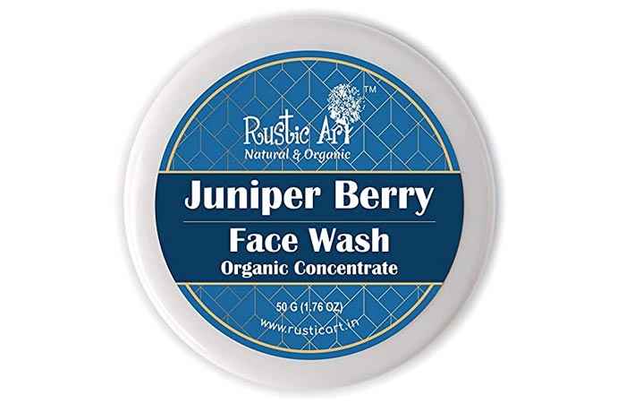 Rustic Art Organic Juniper Berry Face Wash
