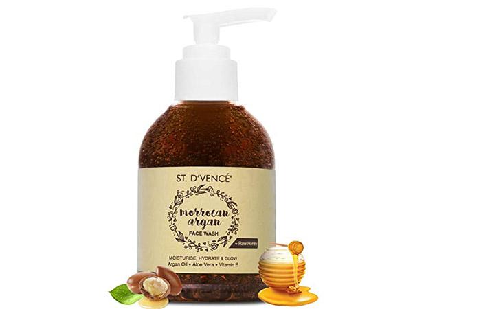 Saint de Vence Morocco Argan Oil and Raw Honey Face Wash