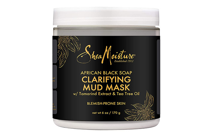 Shea Moisture Clarifying Mud Mask