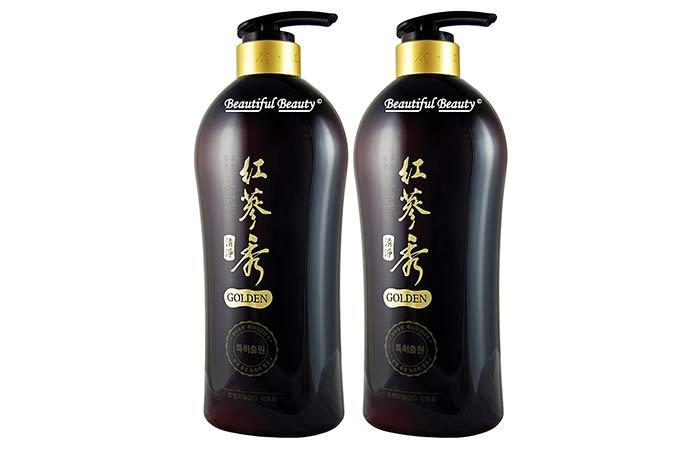 Somang Beautiful Beauty Golden Shampoo Set