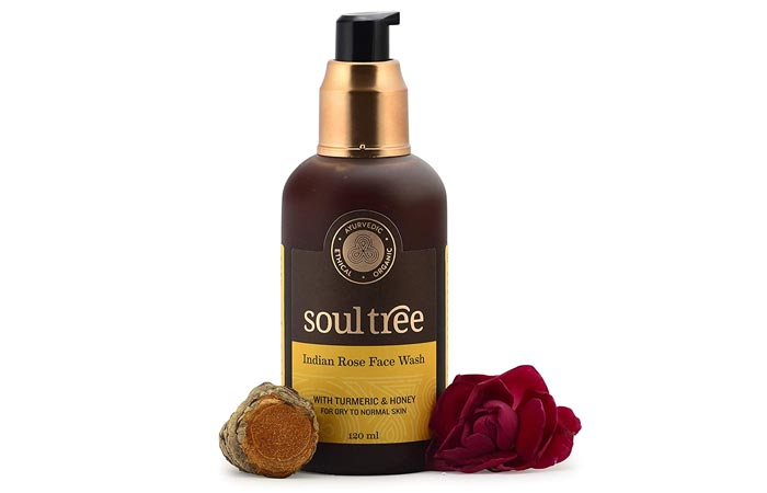 Soul tree indian rose face wash