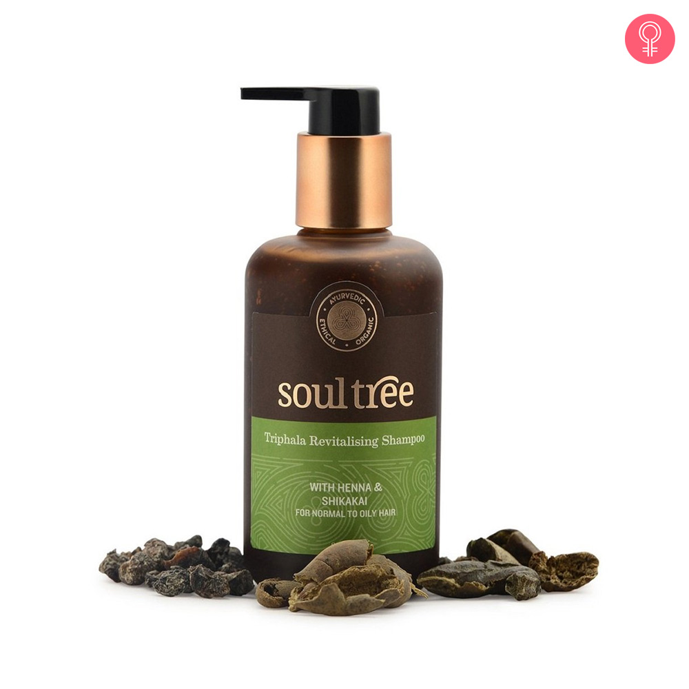 SoulTree Triphala Hair Revitalising Shampoo